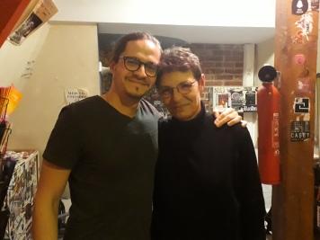 Roman Rouzine et Stéphan Mary slam Le zèbre