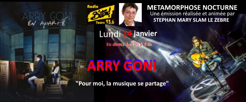 "Arry Goni dans ""Métamorphose nocturne"""