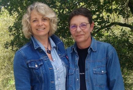 Muriel Hermine et Stéphan Mary slam Le zèbre