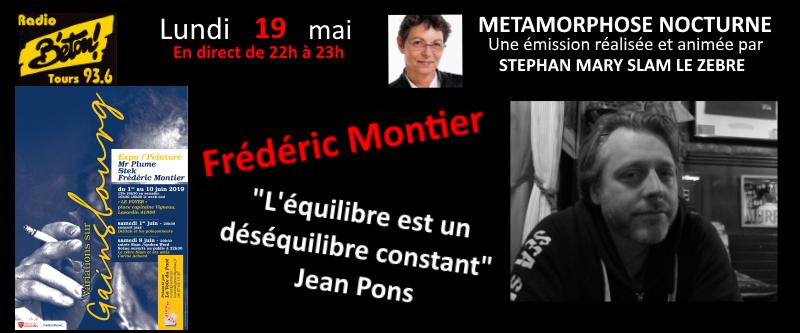 """""""Variations sur Gainsbourg""""  Frédéric Montier dans """"Métamorphose nocturne"""""""