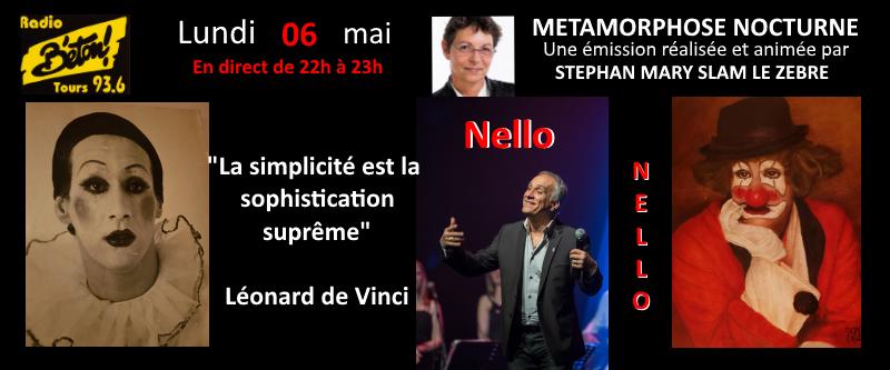 """Nello dans """"Métamorphose nocturne"""""""