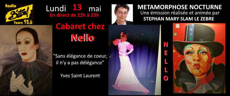 """Nello (suite) dans """"Métamorphose Nocturne"""""""
