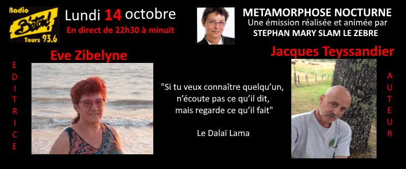 Eve Zibelyne et Jacques Teyssandier dans Métamorphose nocturne