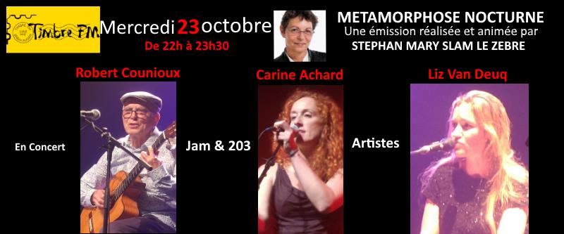 Jam et 203 artistes dans Métamorphose nocturne