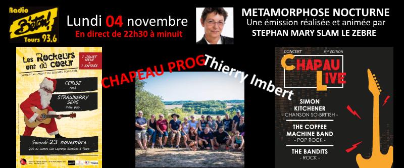 Thierry Imbert de Chapau Prog dans Métamorphose nocturne