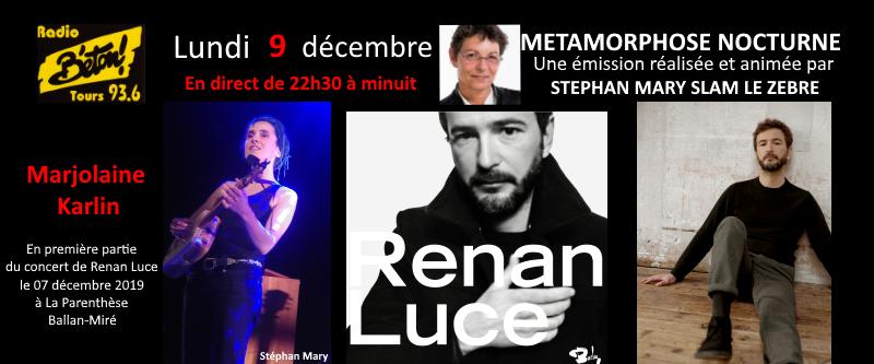 Renan Luce & Marjolaine Karlin dans Métamorphose nocturne