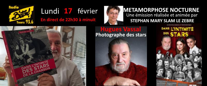 """""""Dans l'intimité des stars"""" Hugues Vassal dans Métamorphose nocturne"""