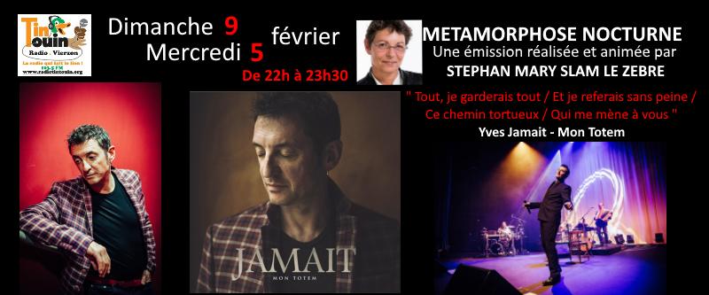 Yves Jamait dans Métamorphose nocturne