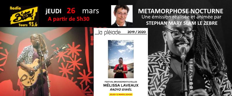 Mélissa Laveaux dans Métamorphose nocturne