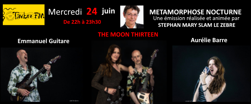 The moon thirteen dans Métamorphose nocturne