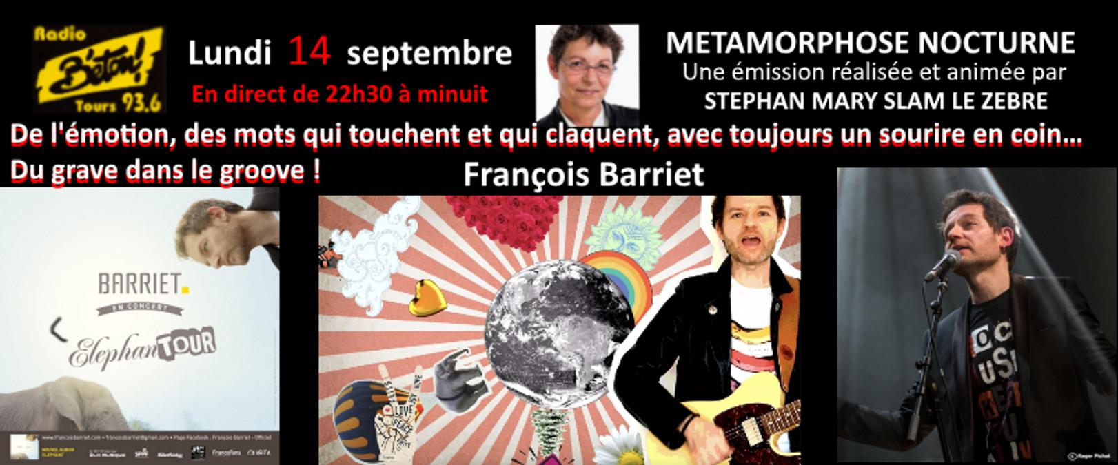 François Barrier dans Métamorphose nocturne
